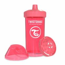 Поильник Twistshake Kid Cup 360 ml, коралловый