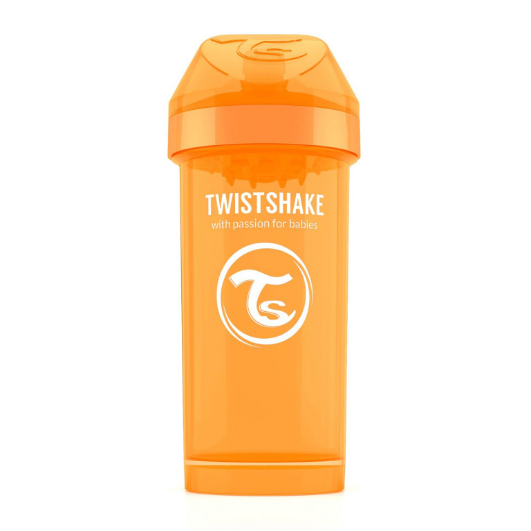 Поильник Twistshake Kid Cup 360 ml, оранжевый