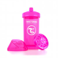 Поильник Twistshake Kid Cup 360 ml, розовый