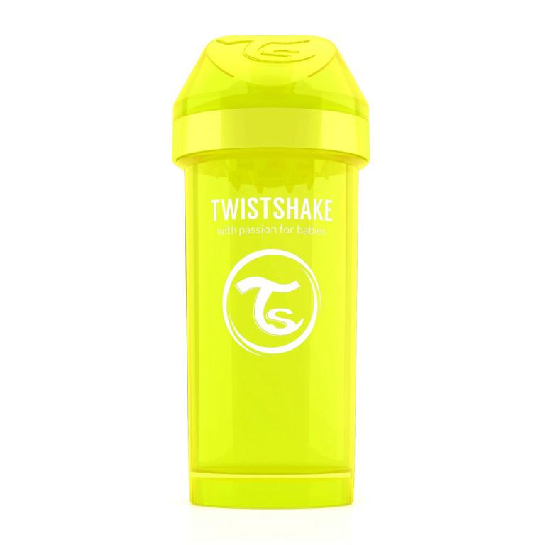 Поильник Twistshake Kid Cup 360 ml, желтый