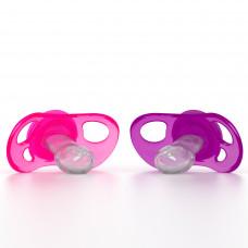 Пустышка Twistshake, розово-фиолетовая