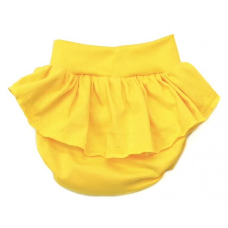 Блумеры с юбочкой LAMAMA желтые