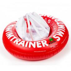 Надувной круг SWIMTRAINER, красный  3 мес. - 4 года