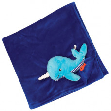"Одеяло с игрушкой ""Кит"""
