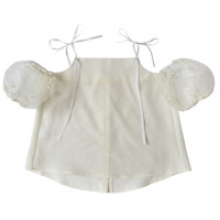 Блузка с открытыми плечами