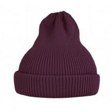 Хлопковая шапка-тыковка, фиолетово-бордовая