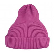 Хлопковая шапка-тыковка, фуксия