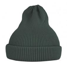 Хлопковая шапка-тыковка, хаки тёмная