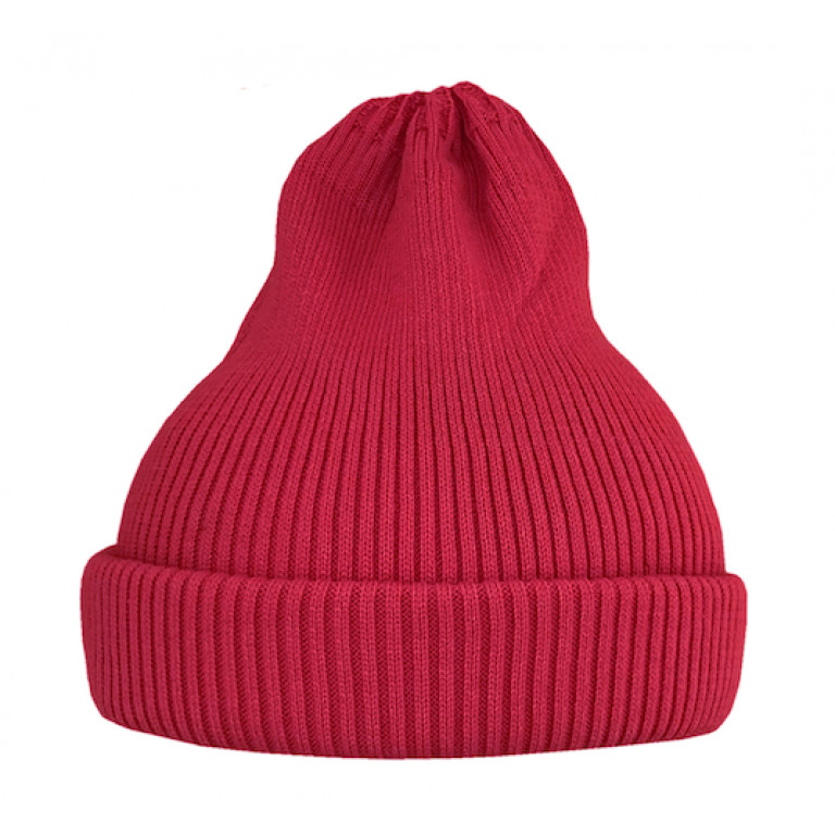 Хлопковая шапка-тыковка, красный