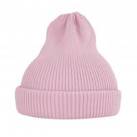 Хлопковая шапка-тыковка, нежно-розовая