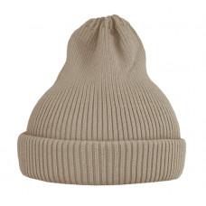 Хлопковая шапка-тыковка, песочная светлая