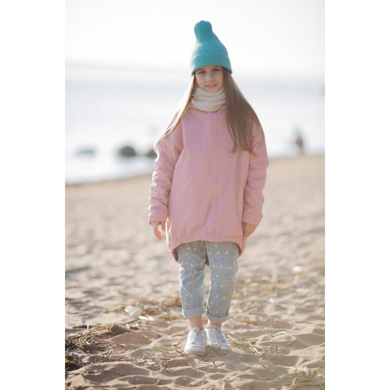 Куртка-парка, розовая