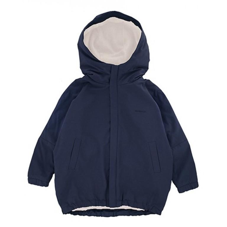 Куртка-парка, темно-синяя