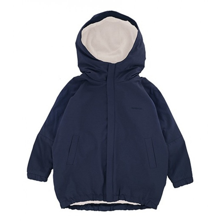Куртка-парка, взрослая, темно-синяя