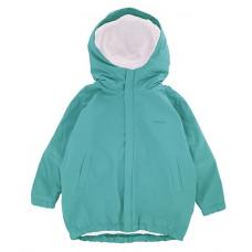 Куртка-парка, бирюзовая