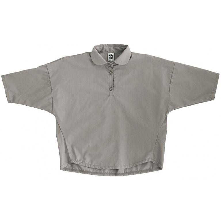 Рубашка для девочек, серая