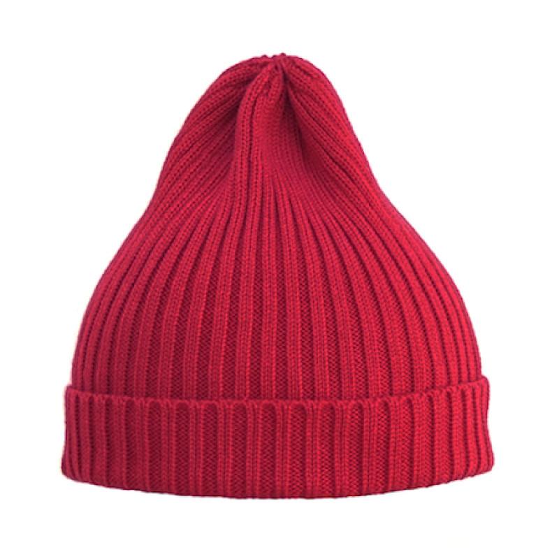 Вязаная шапка для мальчика подростка с отворотом на флисе (м ... | 800x800
