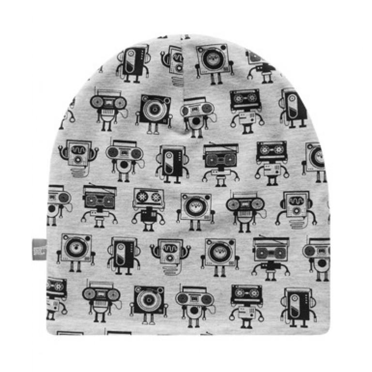 Шапки Family look двухсторонние ROBOTS