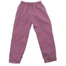 Штаны из плащевки Regular, розовые