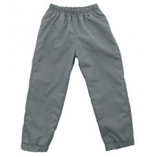 Штаны из плащевки Regular, серые