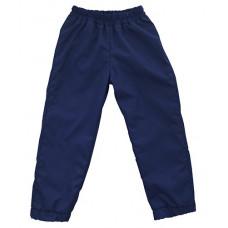 Штаны из плащевки Regular, синие