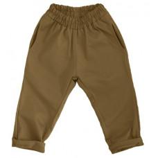 Штаны унисекс, горчично-коричневые