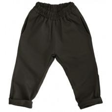 Штаны унисекс, коричнево-черные