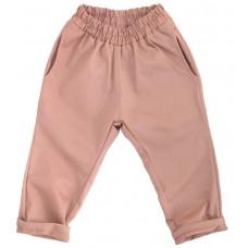 Штаны унисекс, пыльно-розовые