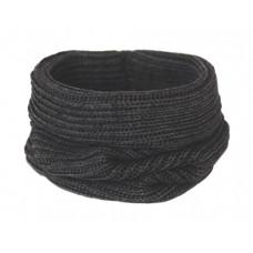 Вязаный шарф-снуд, антрацит