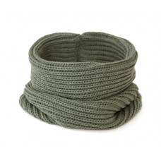 Вязаный шарф-снуд, хаки