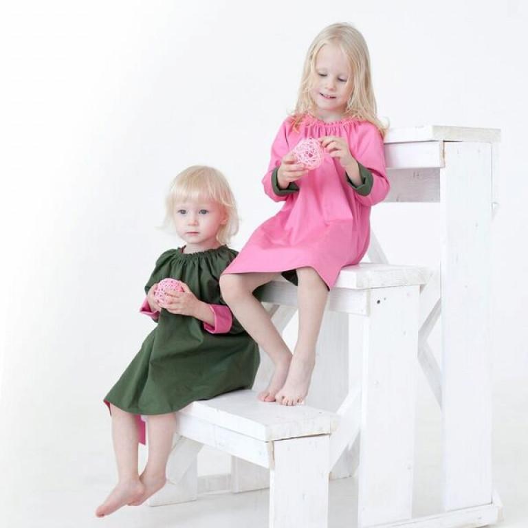 Двухстороннее платье Машенька