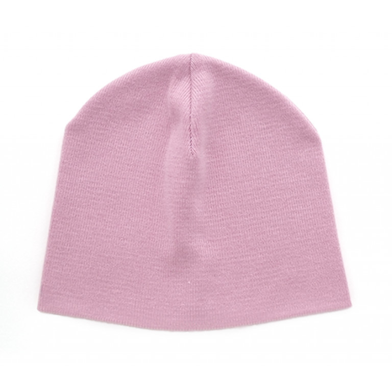 Хлопковая шапка, розовая