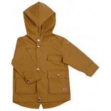 Куртка-парка, горчичная