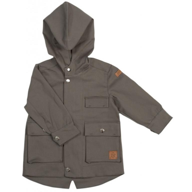 Куртка-парка, серая