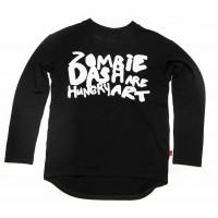 Лонгслив BLACK ZOMBIE DASH, New Born