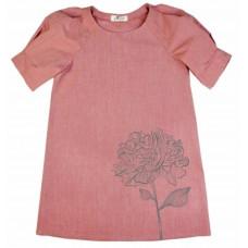 """Платье """"Пион"""", розовое"""