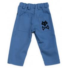 Волчьи брюки, синие