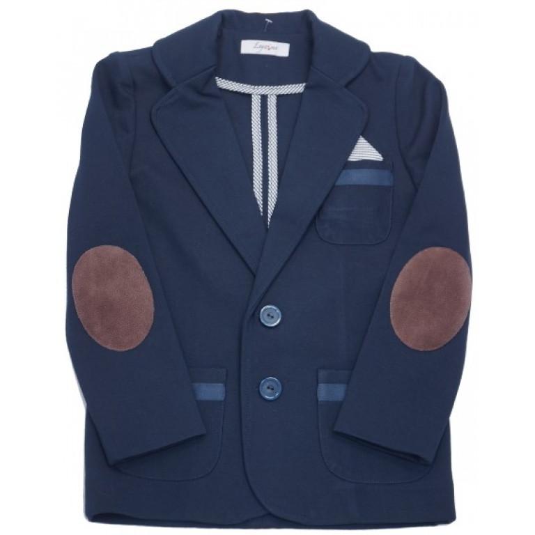 Пиджак для мальчика, синий