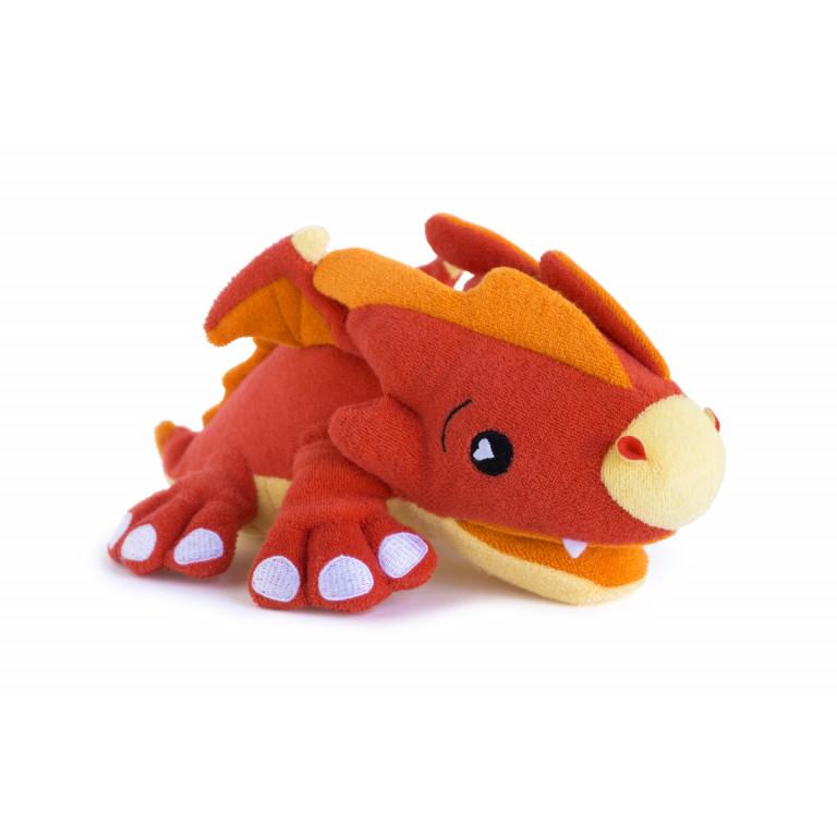 Игрушка-мочалка для купания Дракон Скорч.
