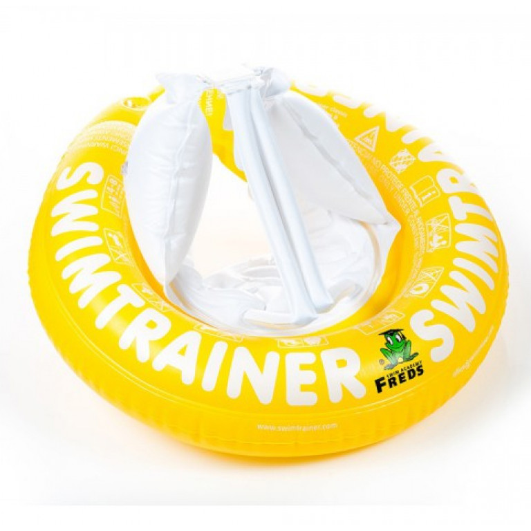 Надувной круг SWIMTRAINER, желтый 4-8 лет