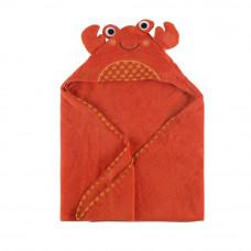 Полотенце с капюшоном для малышей Крабик Чарли