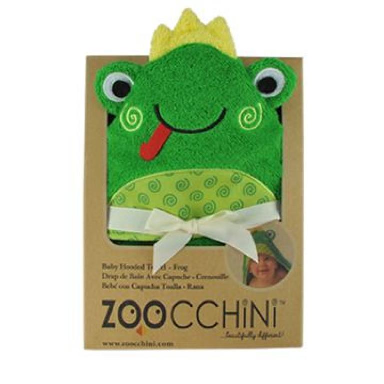 Полотенце с капюшоном для малышей Лягушонок Флиппи