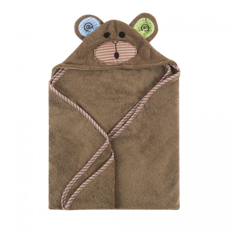Полотенце с капюшоном для малышей Обезьянка Макс