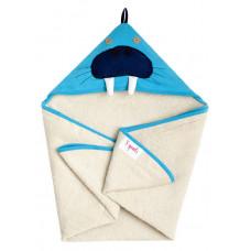 """Полотенце с капюшоном """"Морж"""""""