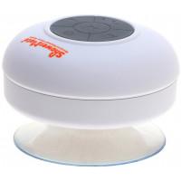 Shower-Mate - Водонепроницаемая беспроводная Bluetooth-колонка, белая