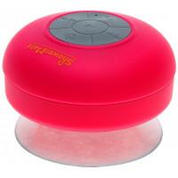 Shower-Mate - Водонепроницаемая беспроводная Bluetooth-колонка,розовая