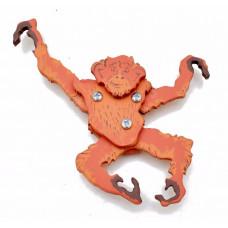 Деревянная игрушка, обезьянка