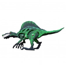 Деревянная игрушка, спинозавр