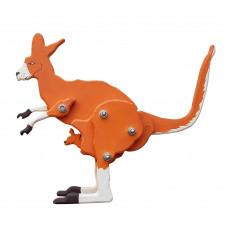 Деревянная игрушка, кенгуру