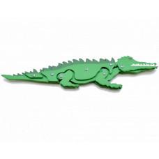 Деревянная игрушка, крокодил